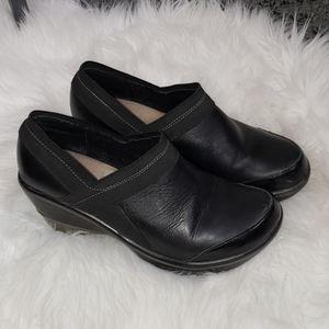 {Jambu} Leather clog shoes Cali Classic